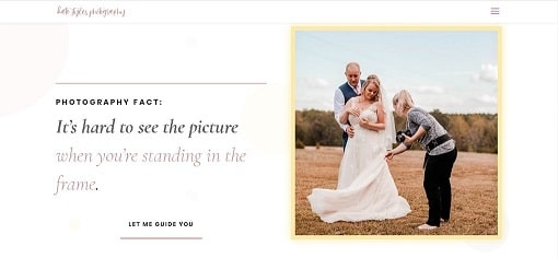 Website Redesign for Kate Styles Photography