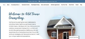 Website Redesign for Old Towne Counseling Services
