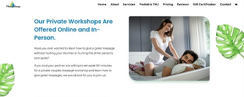 Couples Massage Workshop Landing Page Copy