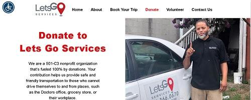 Donation Page Web Copy
