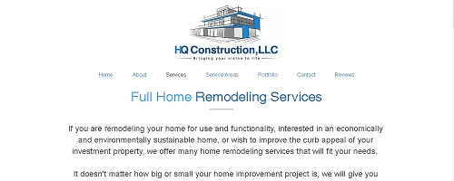Home Remodeling Landing Page Copy