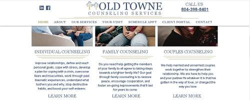 Mental Health Counseling Web Copy